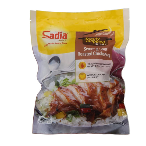 Sweet & Sour Roasted Chicken Leg Sadia 400G Meat/seafood