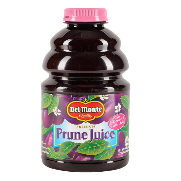 Us Prune Juice W/ Calcium & Folic Acid 12X946Ml(32Oz) Del Monte Drink