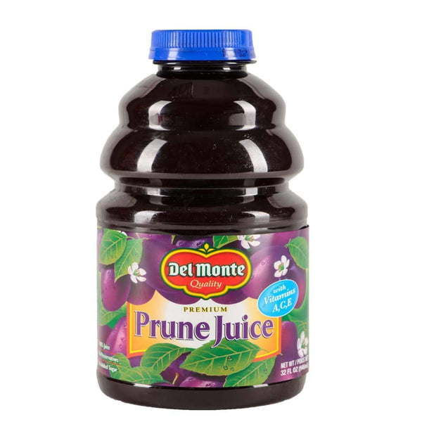 Us Prune Juice W/ Vitamins A C&e 12X946Ml(32Oz) Del Monte Drink