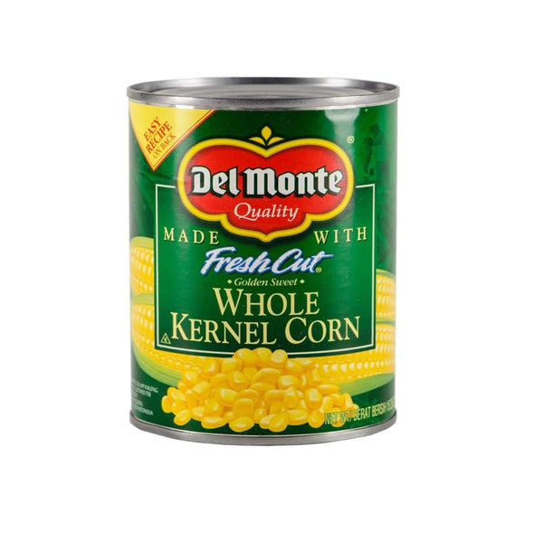 Us Whole Kernel Corn 24X432G(15.25Oz) Del Monte Canned Vegetable