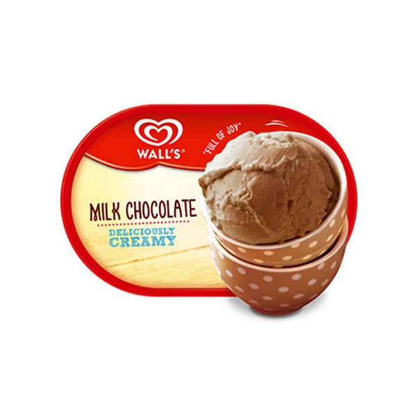 Walls Tub Chocolate Ice Cream 4X1500Ml