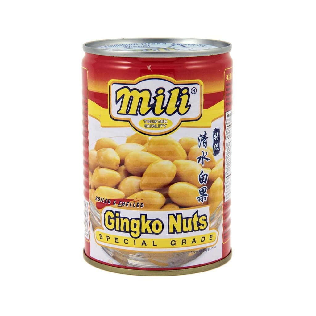 White Nut Ginko Mili (24X397G) Canned Fruits