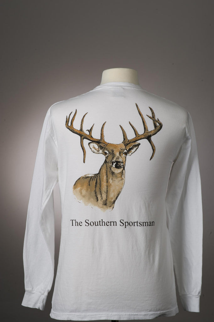 Whitetail Deer T-shirt  Long Sleeve