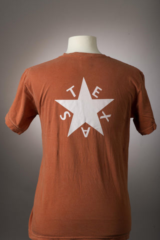 Texas Flag T-Shirt Long Sleeeve