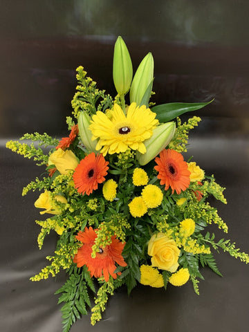 Orange and Yellow Posy