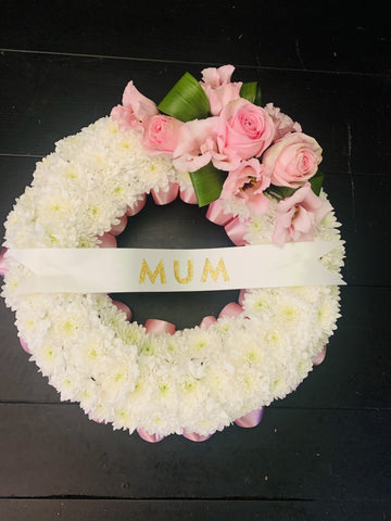Pink Song Wreath