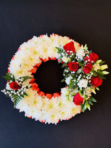 Rose Wreath Tribute