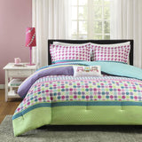 Multicolored  4-piece Comforter Set   FREE SHIPPING - 247onlinemall - 2