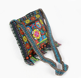 Vintage Embroidery bag Boho Hobo Hmong Ethnic Shoppers Multicolor FREE SHIPPING - 247onlinemall
