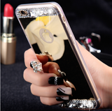 Luxury Bling Diamond Mirror Back TPU Soft Case Cover For Apple iPhone 6/6S - 247onlinemall