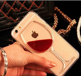 3D Wine Glass  iPhone Case Cover - 247onlinemall