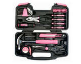 Lady Tool Set PINK 135pc   FREE SHIPPING - 247onlinemall