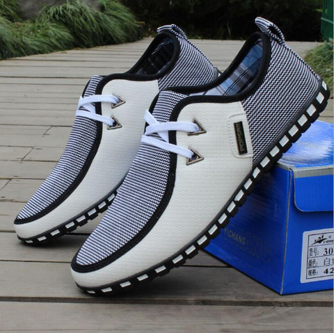 Men's  Casual Shoes  Breathable Flats  FREE SHIPPING - 247onlinemall