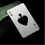 Card Poker Ace of Spades keychain can jar opener - 247onlinemall - 2