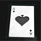 Card Poker Ace of Spades keychain can jar opener - 247onlinemall - 3
