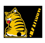 REAR WIPER CAT DECAL - 247onlinemall - 2