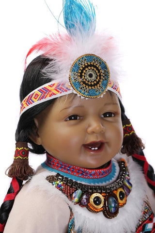 Baby Doll Toys Native American Indians - 247onlinemall - 1