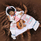 Native American Indian Reborn Baby Doll Cute Close Eyes - 247onlinemall - 1