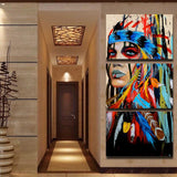 #1  Colorful Canvas Wall Art  3 PZ - 247onlinemall - 4