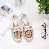 Fashion Ethnic Casual Espadrilles Flat - 247onlinemall - 1