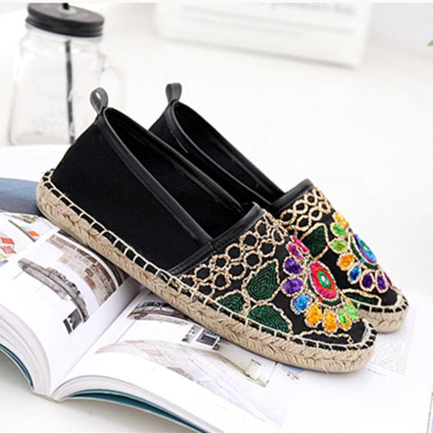 Fashion Ethnic Casual Espadrilles Flat
