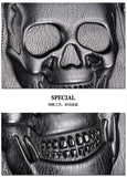 3D Skull Leather Backpack  UNISEX - 247onlinemall - 4