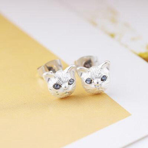 Little  Cat Stud Earrings for Women - 247onlinemall