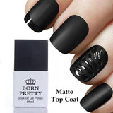 1 Bottle 10ml Born Pretty Matte UV Top Coat Gel Polish