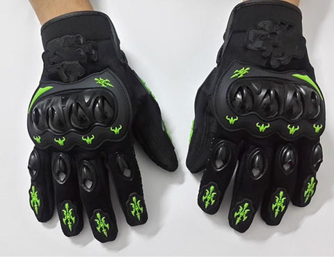 motorcycle gloves all the summer cross-country racing bike rider gloves anti fall - 247onlinemall