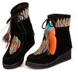 #1. Indian Style Retro Boots
