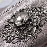 Metal Skull  Leather Wallets - 247onlinemall - 1