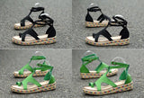 Gladiator Sandals  Ankle Strap - 247onlinemall - 1