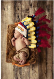 Newborn Baby Indians Knitted Crochet Costume Photo Photography Prop - 247onlinemall - 1