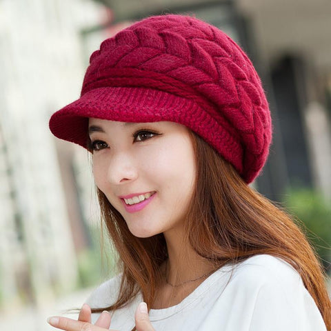 Knitted Caps Crochet Hats - 247onlinemall - 1