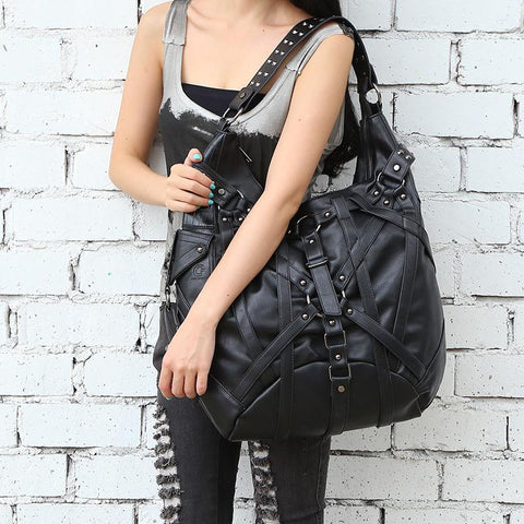 Gothic Steampunk  Shoulder Bag Handbag - 247onlinemall - 1