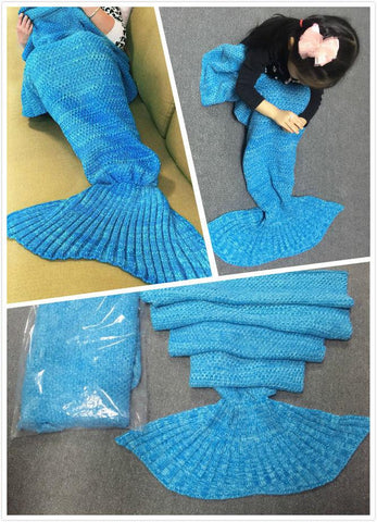 Crochet Mermaid Tail Blanket   FREE SHIPPING - 247onlinemall - 3