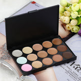 Contour Cream Makeup Concealer Palette 15 Colors FREE SHIPPING - 247onlinemall - 2