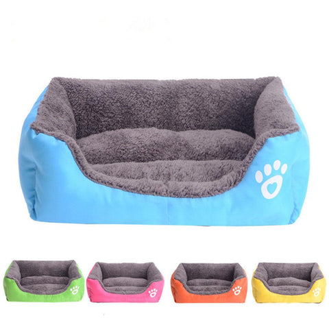 Pet Dog Cat Bed Puppy Cushion House Pet Soft Warm Kennel Dog Mat Blanket FREE SHIPPING - 247onlinemall
