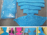 Crochet Mermaid Tail Blanket   FREE SHIPPING - 247onlinemall