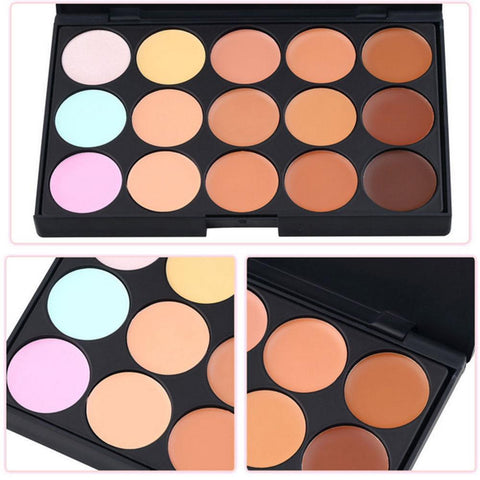 Contour Cream Makeup Concealer Palette 15 Colors FREE SHIPPING - 247onlinemall