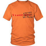 I Love Coffe Funny T-Shirt   FREE SHIPPING - 247onlinemall