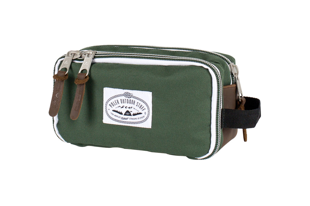 LEAF GREEN DOPE DOPP KIT