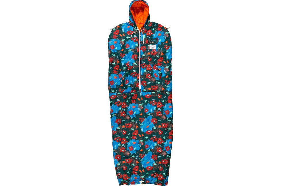 THE NAPSACK - BLUE STEEL FLORAL