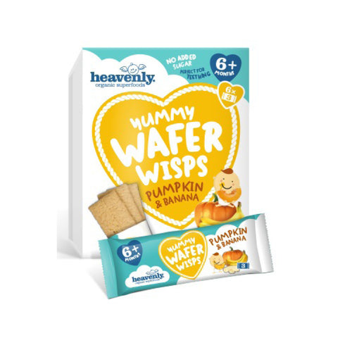 YUMMY WAFER WISPS - CALABAZA Y PLÁTANO