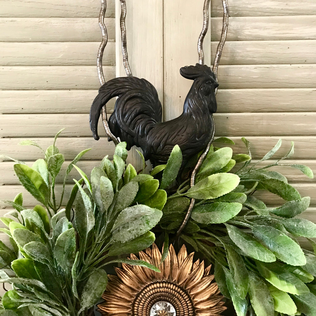 Rooster Medallion