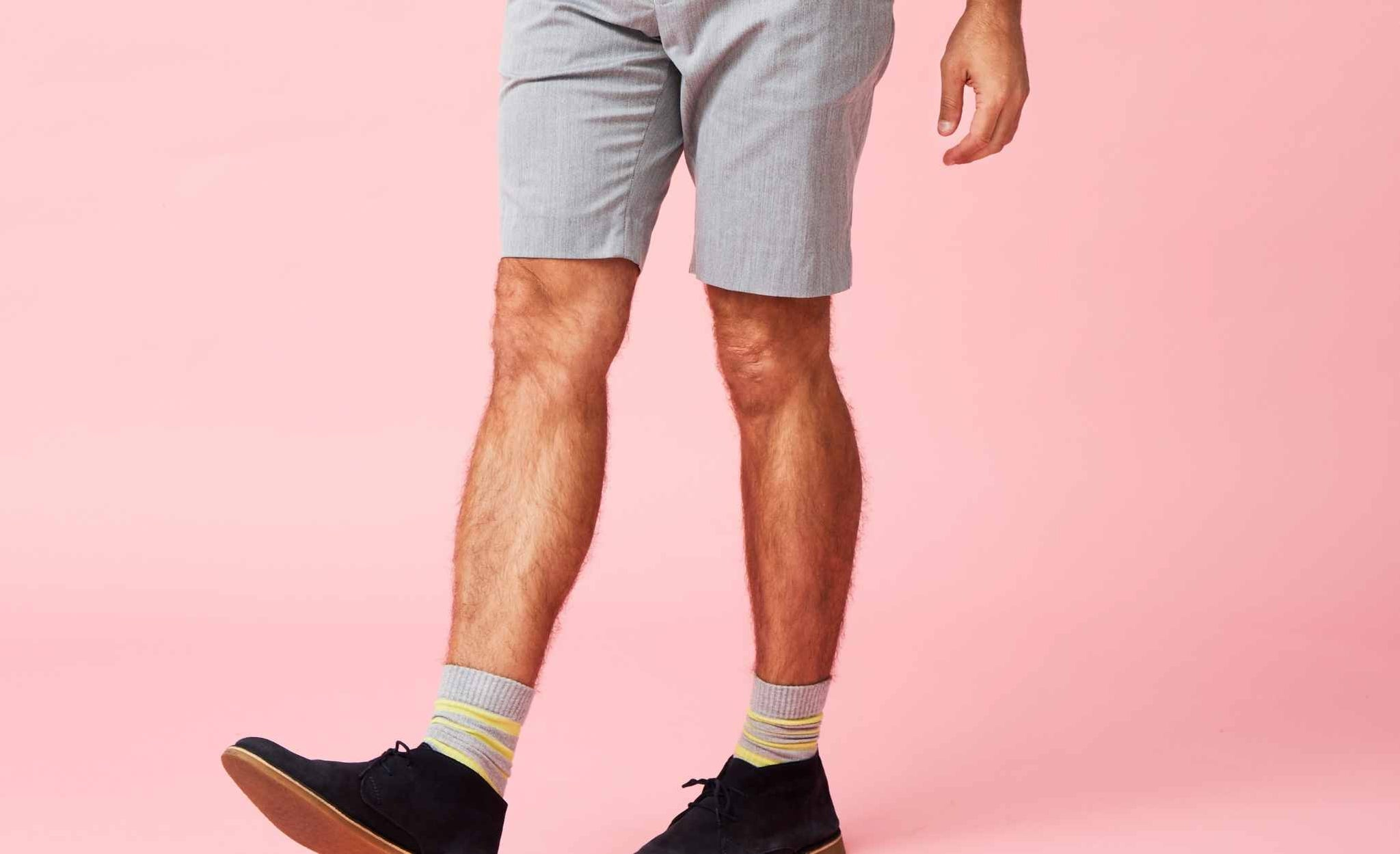 What type of socks You Should wear with shorts?