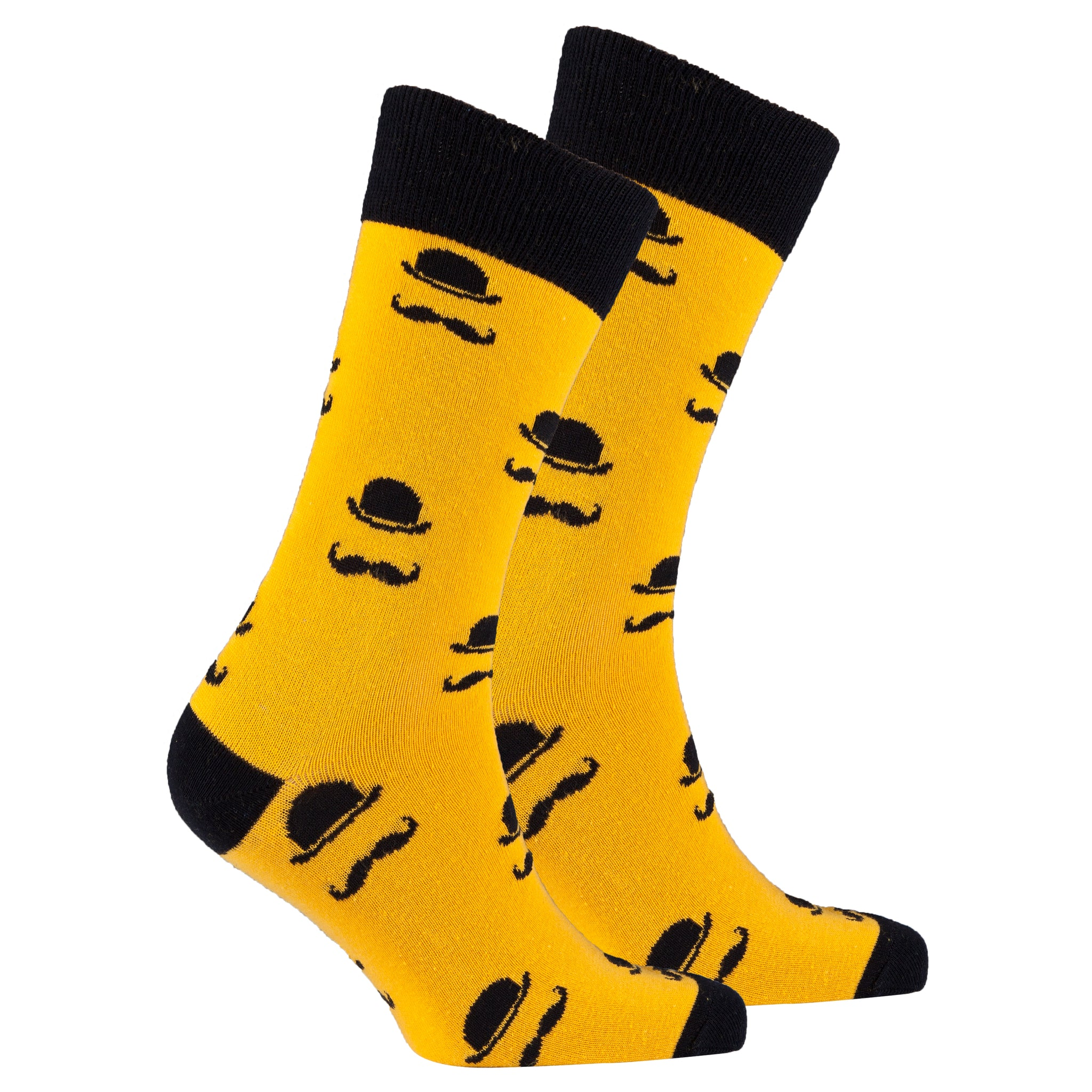 Men's Stache Socks