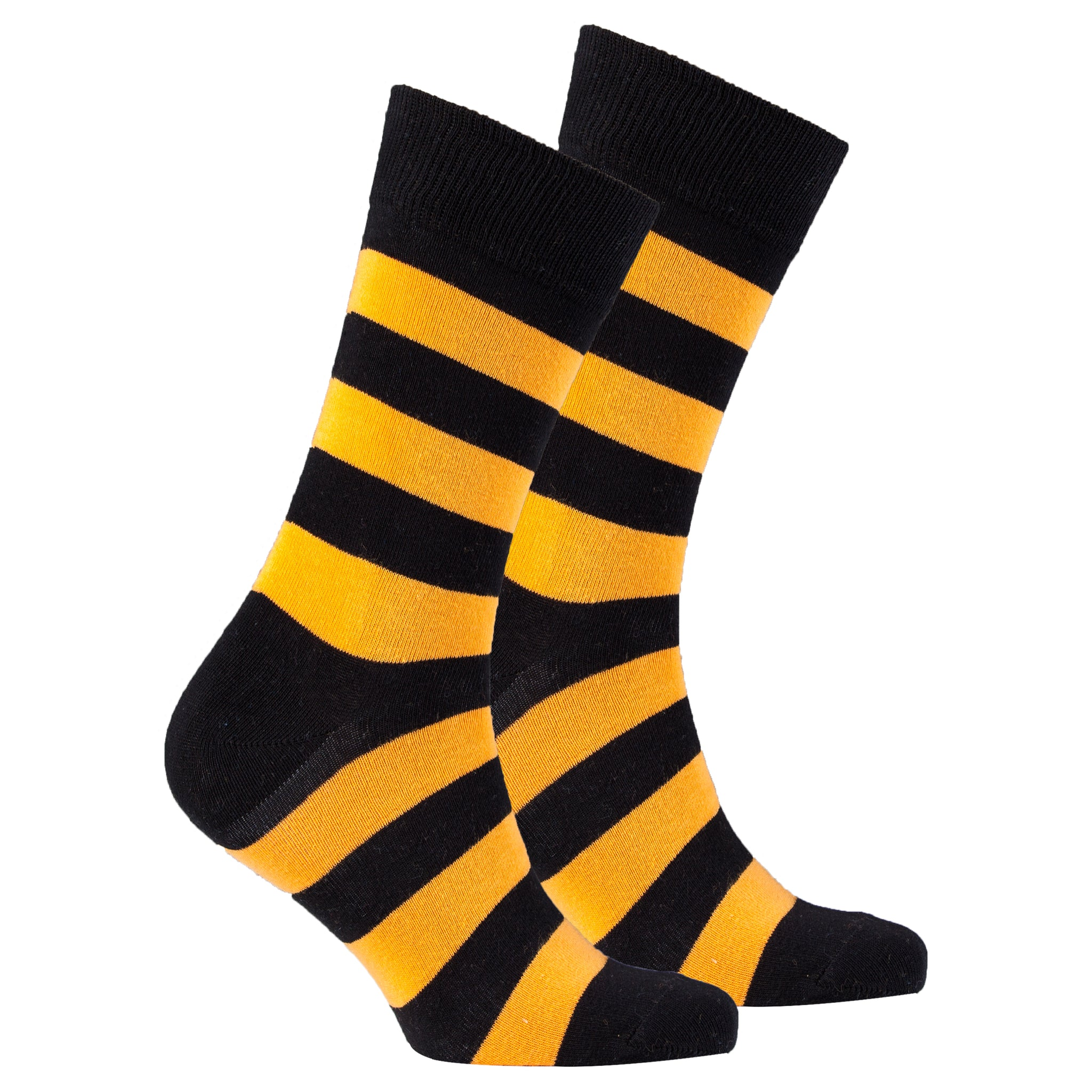 Men's Orange Rugby Socks