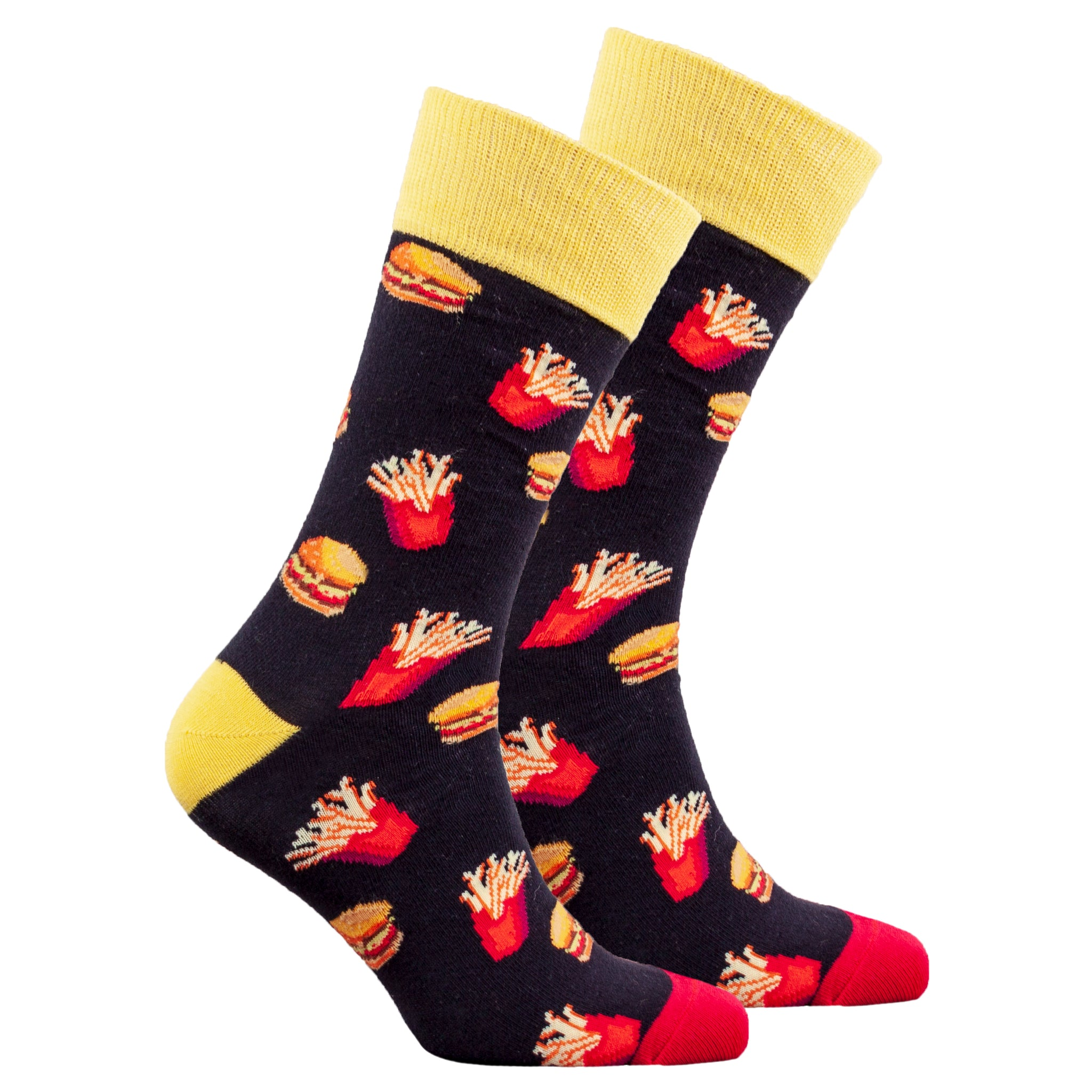 Men's Burger & Fries Socks