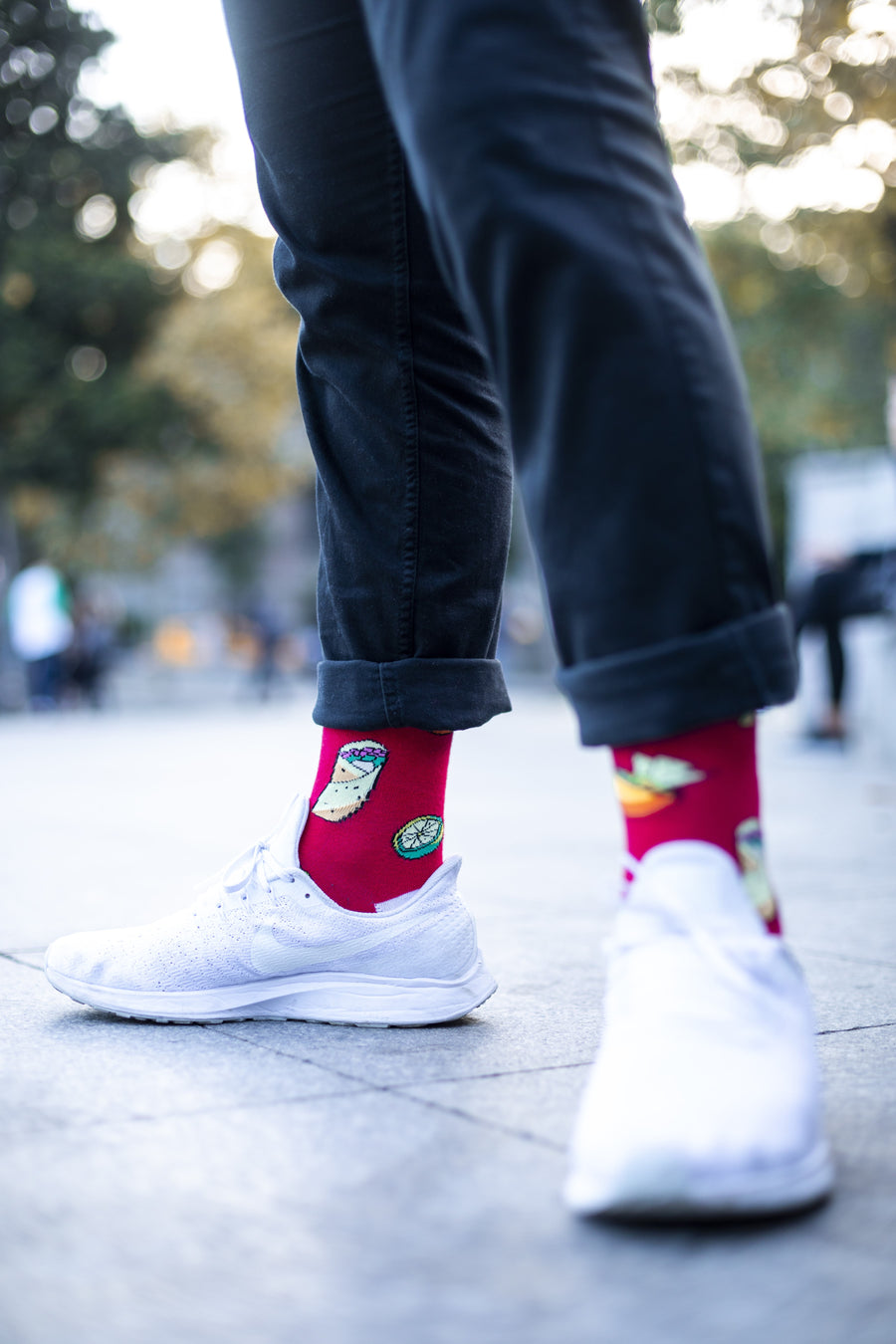 Men's Chili Tacos Socks